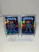 Topps Chrome Garbage Pail Kids 3rd Series T2 Tootie Lot Atomic Refractor And Base