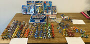 Medabots- 135 Piece Army+7 In Box+ Stadium+ 53 Cards+ Extras