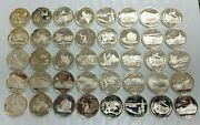 40 Coin Roll 90 Silver Statehood Quarters 40-coin Roll Proof S Mint L290