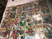 The Mighty Thor Huge Comic Book Lot Rare Collectible 363,370,384,362,360,382,383