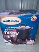 Masterbuilt Butterball Oil-free Electric Turkey Fryer And Roaster. New Open Box