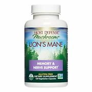 Host Defense Lionand039s Mane Capsules Promotes Mental Clarity Focus And Memory D