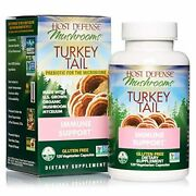 Host Defense Turkey Tail 120 Capsules Natural Immune System And Digestive Sup