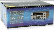 Galaxy Dx2547 40 Channel Cb Radio Base Station 6 Digit Frequency Counter New