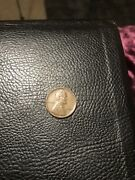 1945 No Mint Mark Wheat Penny Circulated Extremely Rare 1c Us Coin