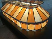 1970s -style Pool Table Lamp Mint Condition Includes Shipping