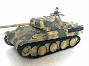 Vintage 21st Century Toys Ultimate Soldier 118 Scale German Panther Tank Wwii