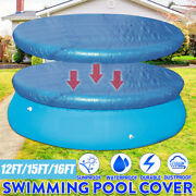 Round Swimming Pool Cover For Intex Bestway Garden Paddling Pools Cover 4 Sizes