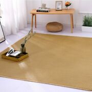 Summer Straw Carpet For Living Room Foldable Portable Area Rug Kid Play Toy Game