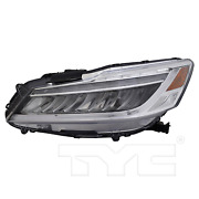 Tyc 20-9766-00-9 Headlight Lamp Left Driver Side Lh Led Touring Model New