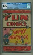 More Fun Comics 17 Cgc 4.5 C-o/w Pages Dc 1937 1,850 In Guide C23731