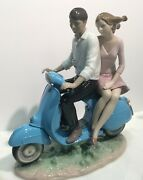 Lladro Riding With You Figurine 1009231.new In Box