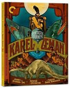 Criterion Collection - Three Fantastic Journeys By Karel Zeman Bd New Bluray