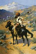 Frederic Remington An Indian Trapper Open Edition 40x60