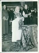 1962 People Council Sept Which Ecumenical For Prepa - Vintage Photograph 4134799