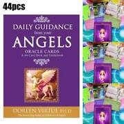 44 Angel Oracle Tarot Cards Deck Doreen Virtue And Radleigh Valentine Psychic Game