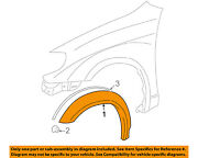 Pontiac Gm Oem Vibe-front Fender Flare Wheel Well Arch Molding Right 88973240