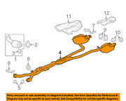 Cadillac Gm Oem 12-14 Cts 3.0l-v6-exhaust System-muffler Tail Pipe 20859597