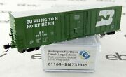 N Scale Pcandf Exterior Post Insulated Boxcar - Bn 732315 - Wheels Of Time 61164
