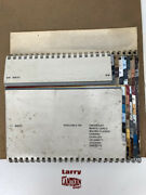 Oem Gm Chevrolet Paint / Interior Swatches Late 1970and039s - Real Deal Original Htf