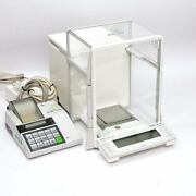 Mettler Toledo At261 Analytical Balance Scale 200g X 0.0001g With Lc-p45 Printer