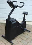 Lot Of 2 - Two - Cybex Fitron Upright Cycle Ergometer Cordless Exercise Bike /s