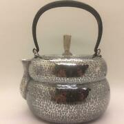 Made Of Sterling Silver Travel Pillow Boiling Water Iron Hand Bottle Sencha