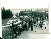 Suhl Pull Recording Proposed Sports Berlin Houst Gunther - Vintage Photography