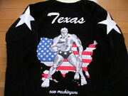 Sold Out Kin Meat Man Terry Mann Sukajan Black Reversible Geronimo Embroidery