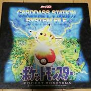 Pokemon Cardass No.000-151 Complete + Special Card Bandai With Binder