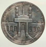 1984 P United States Los Angeles 23rd Olympics Proof Silver Dollar Coin I94842