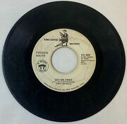Freddie South Set Me Free/iand039ll Be Watchinand039 Over You King David 645