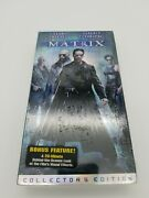 The Matrix Vhs New Old Stock Factory Sealed Warner Home Video Stamp Nos
