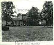 Press Photo Hector Zevallos Home At 24 Camelot Drive In Edwardsville, Illinois
