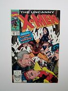 Uncanny X-men 261 1st App Hardcase And The Harriers 1990 Marvel Jim Lee Cover