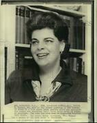 1969 Press Photo Mrs. Robert Meyner, Wife Of Former New Jersey Governor