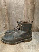 Menandrsquos Size 9.5 Skechers Leather Pemex Royster Ankle Boots