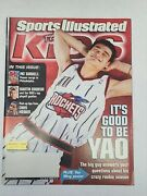 2003 Si For Kids Yao Ming Full Magazine With Uncut Lebron James Rc Rookie