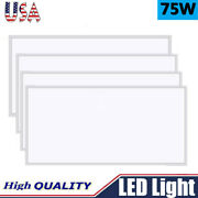 20pcs Bright 75w 2x4 Led Panel Light Ceiling Fixture Office Drop-in Troffer Lamp