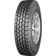 4 Tires Michelin X Multi D 255/70r22.5 Load H 16 Ply Drive Commercial