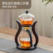 New Glass Clear Luxury Modern Tea Set Vintage Porcelain Teapot China Cup 60aa07