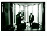 1991 John Reed Are Cofounders Citicorp President - Vintage Photography