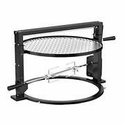 Santa-maria Style Grill Rotisserie System Adjustable Cooking Grate Attachment