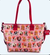Harveys Seatbelt Bags Puppy Love And Minnie Mouse Bundle. Stickers Included