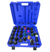 33pc Master Cooling Radiator Pressure Tester With Vacuum Purge And Refill Kit
