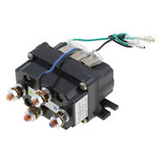 12v Winch Solenoid Contactor Relay For 9500lbs-17000lbs Atv Utv 4wd 4x4 Winches