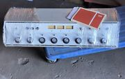 Vintage And03969 Collins 212-l1 8-channel Stereo Broadcast Mixing Console W/paperwork