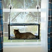 Kandh Pet Products 9092 Gray / Black Kitty Sill - Double Stack Ez Window Mount ...