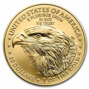 Ch/gem Bu 2021 1 Oz. 50 American Eagle Gold United States Coin 1 Ounce Type 2