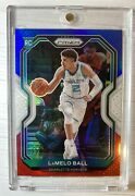 2020-21 Panini Prizm Nba Lamelo Ball Rc 278 Red White And Blue Hornets Repack